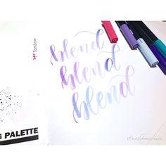 Love blending colors!
