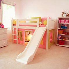 Kinderzimmer Für Mädchen Hochbett Design Mit Rutsche   Hochbett Mit Rutsche  U2013 Spaß Im Kinderzimmer