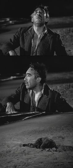 Is this Zampano's redemption? Has he become aware of the consequences of his actions? La Strada 1954