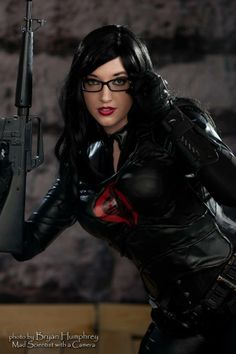 Callie Cosplay as The Baroness