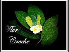 FOLHA EM CROCHE - MODELO 5