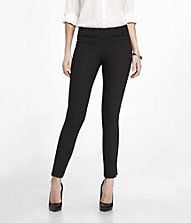 Side Zip Skinny Ankle Pant - Express