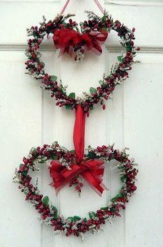 Valentine's Day ~ Heart Wreath
