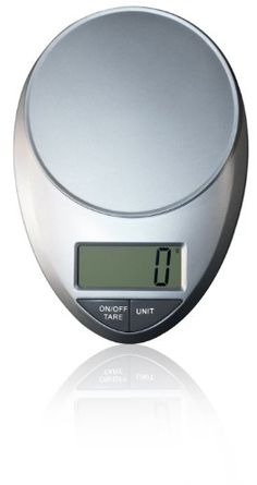 The EatSmart Precision Pro Digital Kitchen Scale is an economically priced multifunction home scale, perfect for everyday tasks from weighing food or ingredients to calculating postage.