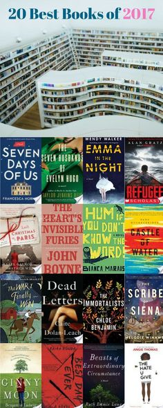 Pin Now, Read Later - Fiction, Young Adult and Middle Grade reads all make the cut of the best books published in 2017. We've read and recommend all of these! Of the 200+ books we read this year - these 20 stand out from the pack!!!
