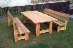 Dubový nábytek Picnic Table, Furniture Design, Aso, Outdoors, Google, Photos, Home Decor, Pictures, Decoration Home