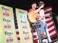 Dylan Scott at the Boot Grill in Loveland for New From Nashville