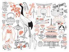 Image result for sakura doodle