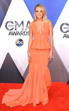 Carrie Underwood in Gauri + Nainika, 2015 CMAs