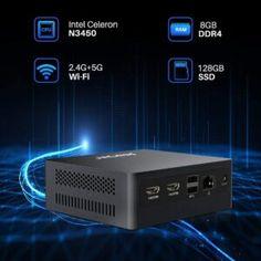 AWOW AL34 Mini Desktop PC w/ Celeron N3450, 8GB RAM, 128GB SSD Review | Electronics Critique Critique, Price Point, Hdmi Cables, Life Pictures, Entry Level, Desktop Computers, Home Entertainment, Card Reader, Smart Tv