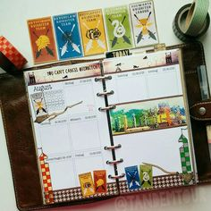 FAVtastic Customize Quidditch Theme | Harry Potter | Gryffindor | Filofax | Planner | Organizer | Inspiration | Ideas