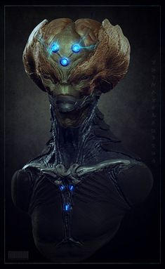 Brainiac concept, Sandesh Chonkar on ArtStation at http://www.artstation.com/artwork/brainiac-concept