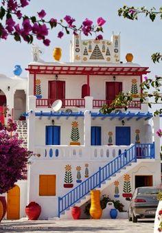Asyik Blogku: Beautiful Colorful Houses