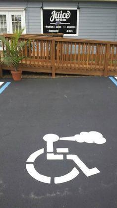 Handicap Vapers Only! [ Vapor-Hub.com ] #meme #vape #vapor