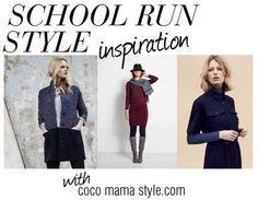 Need some school run style inspiration? This post is regularly updated with tips and stylish inspiration to help you get up & get dressed in style with minimum effort.