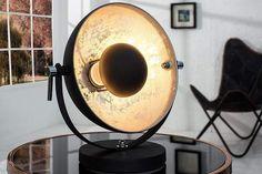 STUDIO fekete és ezüst asztali lámpa 40cm #lakberendezes #otthon #otthondekor #homedecor #homedecorideas #homedesign #furnishings #design #furnishingideas #housedesign #livingroomideas #livingroomdecorations #decor #decoration #interiordesign #interiordecor #interiores #interiordesignideas #interiorarchitecture #interiordecorating #metaldesign #metaldecoration #metalinterior #metaldecor #metalfurniture #metalbedframe Living Room Modern, Living Room Designs, Desk Lamp, Table Lamp, Retro Design, Modern Design, Or Noir, Style Retro, Unique Lighting