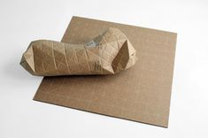// Cardboard Packaging Folds to Fit Parcels of Any Shape