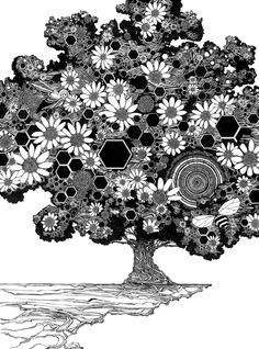 Could you make a tree zentangle?
