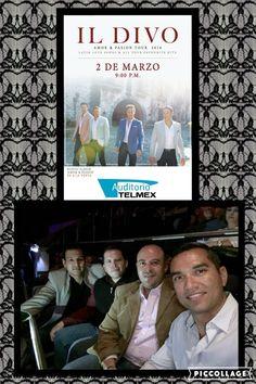 Velada musical con Il Divo!!! 02/03/16