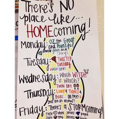 Poster for Red Ribbon or Spirit Week - Student Council Spirt Week Ideas, Spirit Week Themes, Spirit Day Ideas, Spirit Weeks, High School Homecoming, Homecoming Spirit Week, Homecoming Ideas, Homecoming Parade, Homecoming Decorations