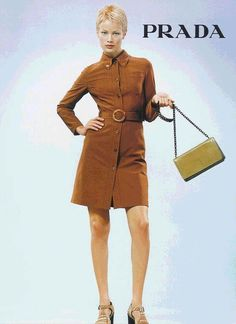 styleregistry: Prada | Spring 1996 carolyn murphy
