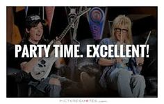 Wayne's World quotes Waynes World Quotes, Movie Pic, April Challenge, Wayne's World, World Movies, Favorite Movie Quotes, Funny Qoutes, Music Promotion, Love Me Quotes