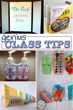 "Check out this list of frugal ""hacks"" for your classroom organization"