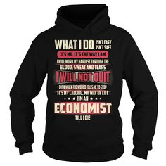 Economist We Do Precision Guess Work Knowledge T-Shirts, Hoodies. ADD TO CART ==► https://www.sunfrog.com/Jobs/Economist-Job-Title-T-Shirt-Black-Hoodie.html?id=41382
