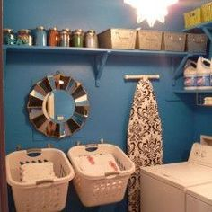 Modified laundry basket do it yourself home projects from ana fun small space laundry room other metro laura hayes solutioingenieria Image collections