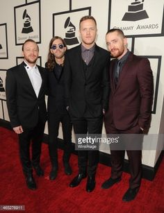 Imagine Dragons attend the 56th GRAMMY Awards at Staples Center on January 26, 2014 in Los Angeles, California.