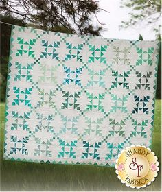 Island Chain Pattern: Island Chain designed by Eye Candy Quilts shows that no matter how many times you make a block, each one has its own personality. This pattern includes instructions for two versions. Version No. 1 finishes at 83 1/2