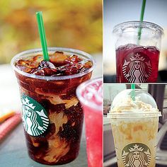 Cheap Starbucks Drinks!! Here Caitlyn, let's try these!