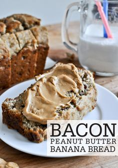 Try something new, unique, and insanely delicious at breakfast with this recipe for Bacon Peanut Butter Banana Bread. This will swiftly become a family favorite!