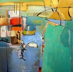 Leslie Allen Isleton Bridge , 2011 Formatting Painting 30 x 30 in oil on canvas