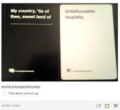 "And finally, when…uh, we're just going to assume that ""unfathomable"" means ""the opposite of."" 
