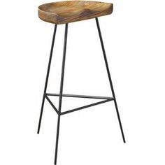 Stylish Wood Counter Stool - Froy.com