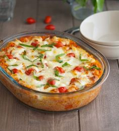 The Iron You - A healthy living blog with tasty recipes: Bruschetta Quinoa Casserole