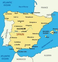 Ibiza On World Map.Ibiza On World Map Let S G Pinterest Map Of Spain Spain