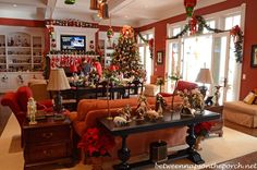 Tour a Beautiful Victorian Home Decorated for Christmas, Part IV