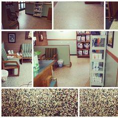 Rhino linings of auburn decorative and protective floor coatings!