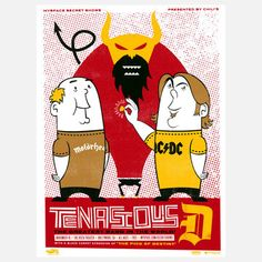 Tenacious D, $21, now featured on Fab.
