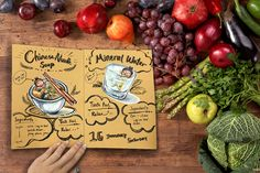 Maggie Yong 7 day routine emotion recipe note book 15-21Jan2016 Mineral Water, Recipe Notes, Routine, Soup, Recipes, Art, Art Background, Recipies, Kunst
