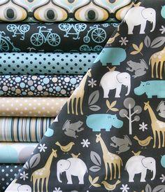 FINALLY - a cute fabric for boys. PJs I'm thinking...