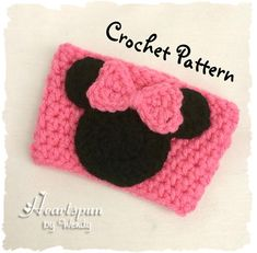 CROCHET PATTERN for Mickey Mouse and Minnie by HeartspunByWendy