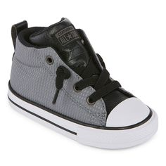 Converse Chuck Tayor All Star Street Mid Boys Sneakers - Toddler, Color: Util Green Blk Wht - JCPenney American Falls, Rubber Shoes, Toddler Boys, All Star, High Top Sneakers, Stars, Black, Converse Chuck, Street