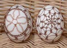 Drátování Egg Art, Wire Weaving, Food Crafts, Egg Decorating, Holiday Foods, Wire Work, Gourds, Wire Wrapped Jewelry, Art Forms