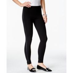 Final price 💸Bebe black jeggings Black pull-up jeggings with silver side zippers that actually zip up. Stretchy bebe Pants Skinny