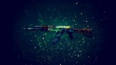 Download AK 47 Rifle Fire Serpent Counter Strike Global Offensive Weapon Skin 1920x1200