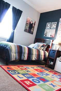 big boy room reveal: the middle child's room | best of house of