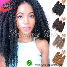 Curly Afro Marley Braid Twist Hair Crochet Barids Pinterest Braids And